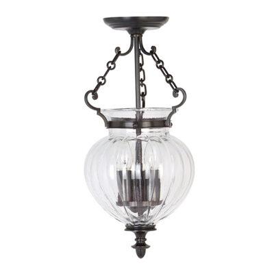 Traditional pendant light