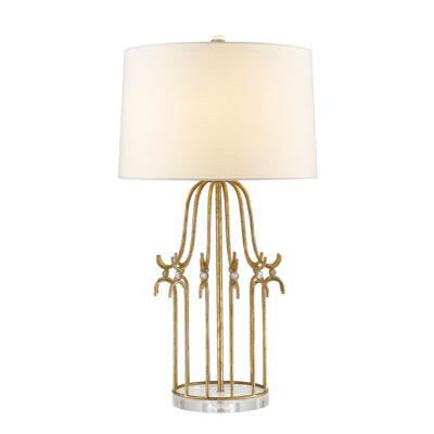 Melrose Table Lamp in Gold