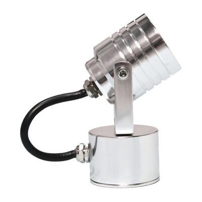 Yvona Multi Directional Spotlight in Aluminium Medium