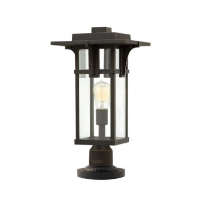 French Traditional Outdoor Pedestal Light