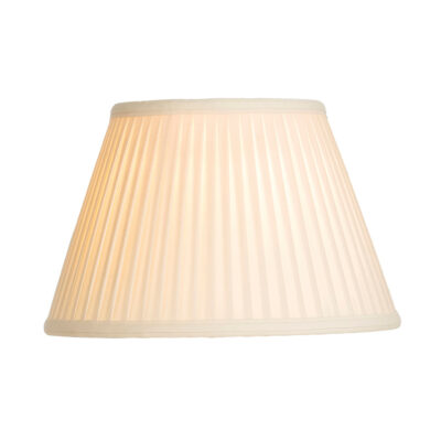 Oyster 30cm Cotton Fine Pleat Shade