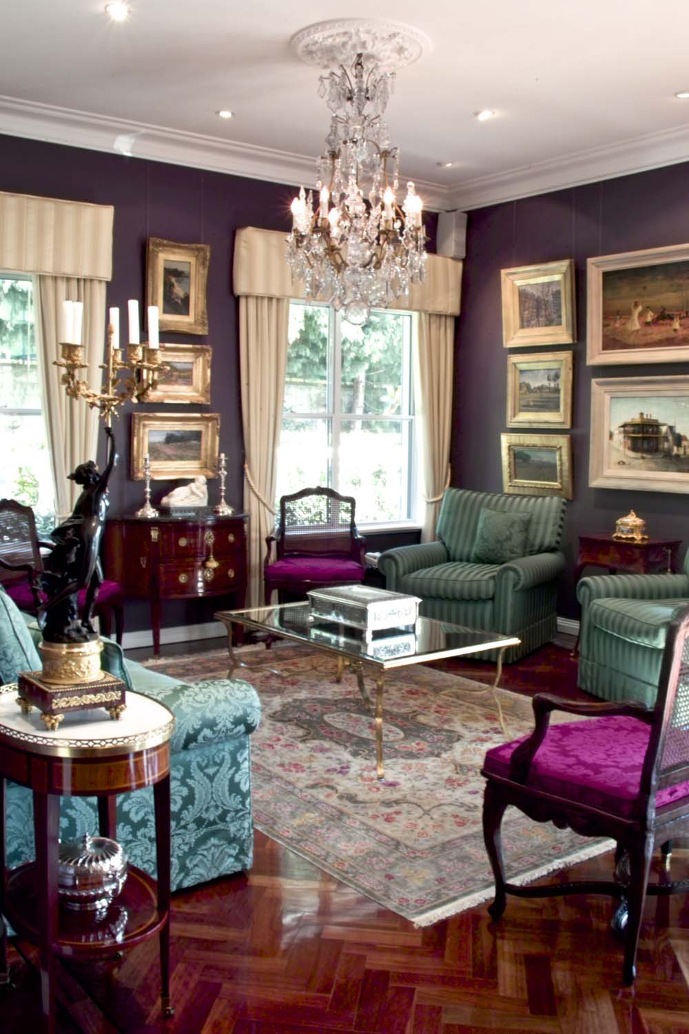 16 Classic fromal French mansion interior design