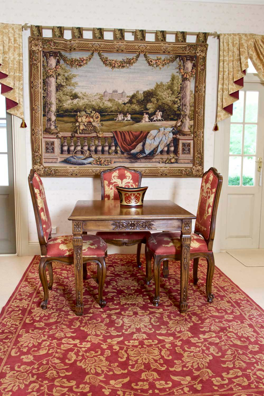 20 Grand country manor in the French style interior