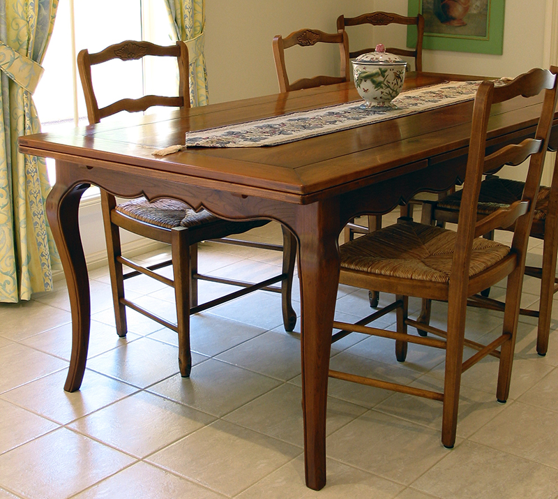 Cherry Finished European Beech Dining Table