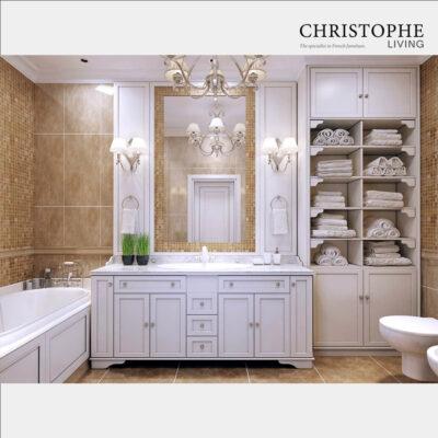 Classic Bathroom Vanity cabinetry design
