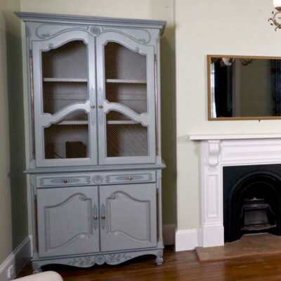 French Provincial Buffet grey