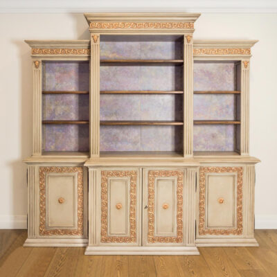 French Buffet Venetian finish