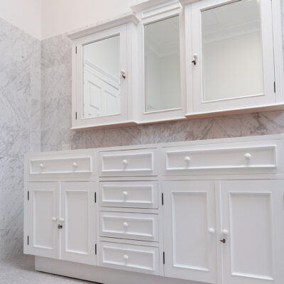 rench Hamptons Style Bathroom Vanity
