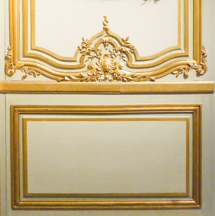 decorative wall panelling designs gold