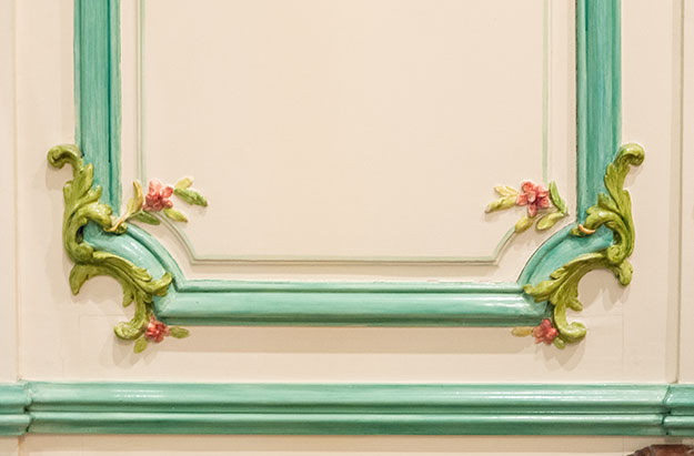 decorative wall panelling sydney interior classic style painted finish