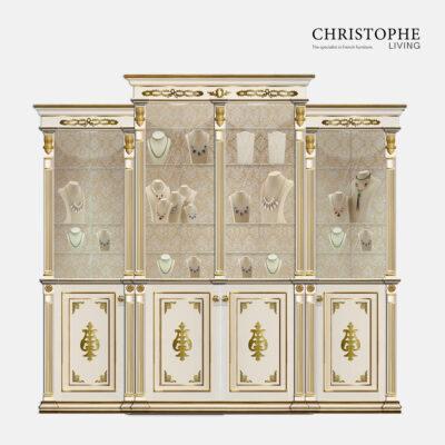 French Hamptons Jewellery display cabinet wardrobe design buffet design