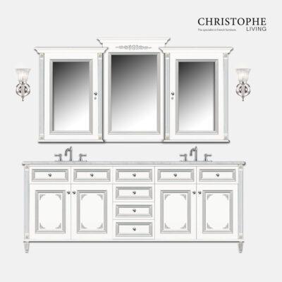 french hamptons bathroom vanity design custom made sydney