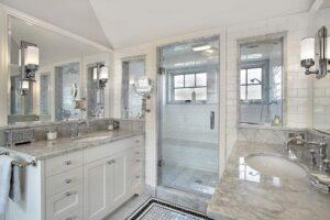 Hamptons French bathroom vanity